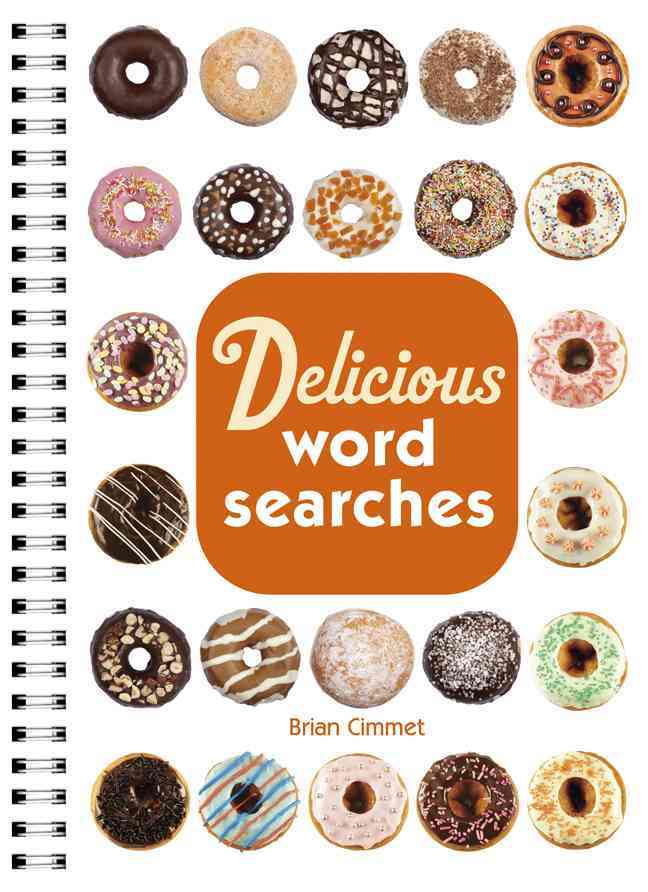 Delicious Word Searches By Cimmet, Brian